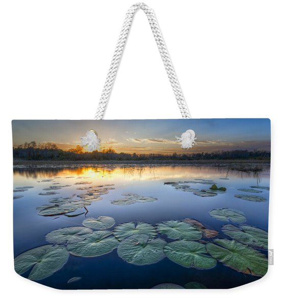 Lily Pads In The Glades Weekender Tote Bag