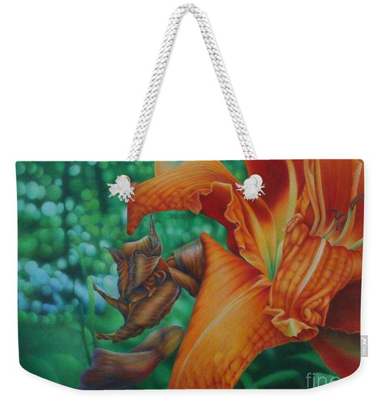 Lily's Evening Weekender Tote Bag