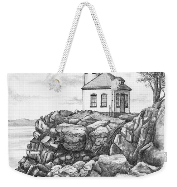 Lime Kiln Lighthouse Weekender Tote Bag