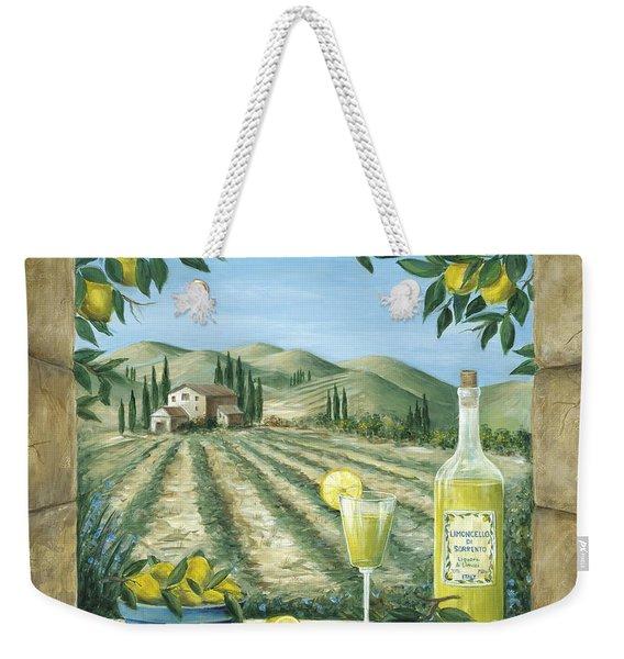 Limoncello Weekender Tote Bag