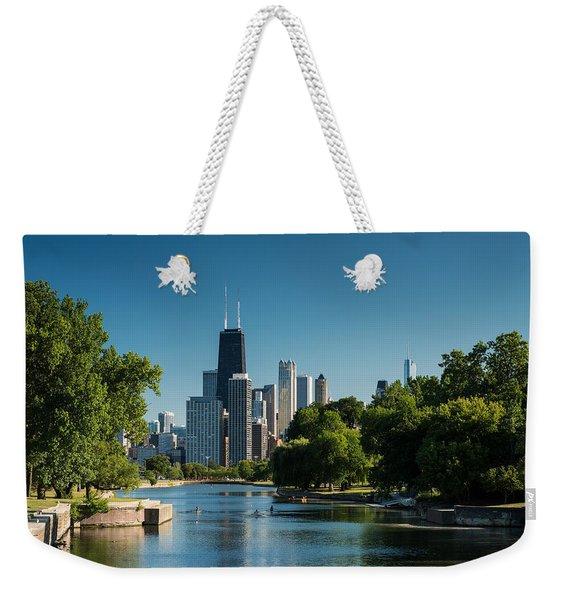 Lincoln Park Chicago Weekender Tote Bag