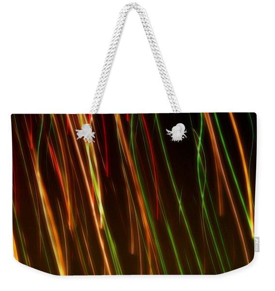 Line Light Weekender Tote Bag