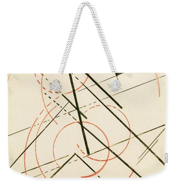 Linear Composition Weekender Tote Bag