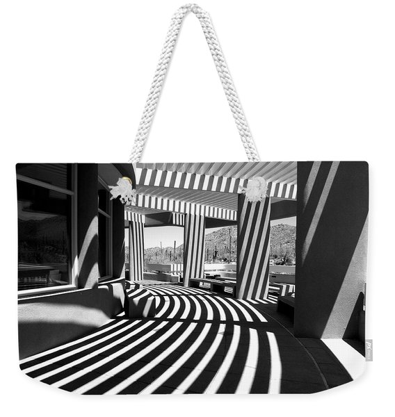Lines And Curves Weekender Tote Bag