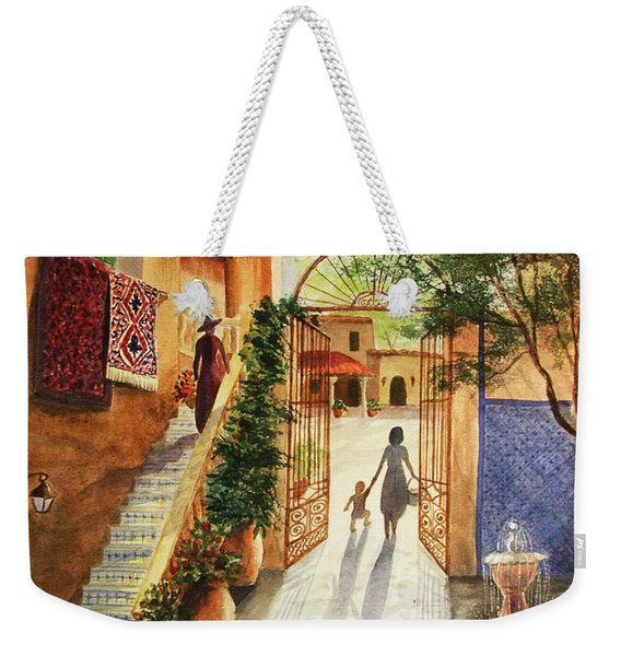 Lingering Spirit-sedona Weekender Tote Bag