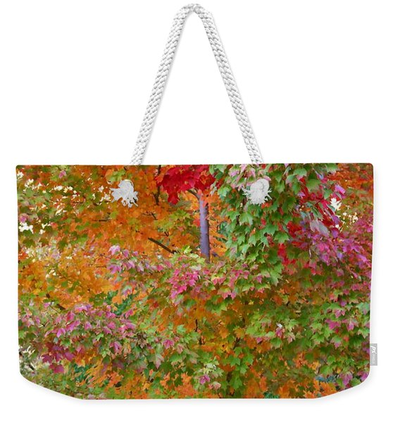 Liquid Amber Magic Weekender Tote Bag