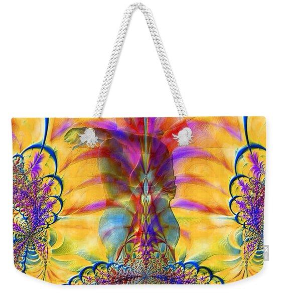 Liquid Lace Weekender Tote Bag