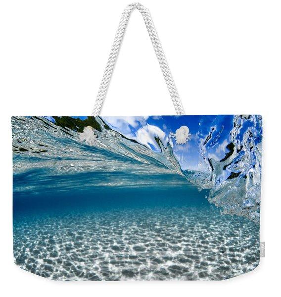 Liquid Motion Weekender Tote Bag