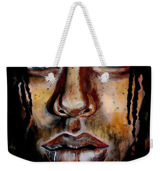 Liquid Stare Weekender Tote Bag