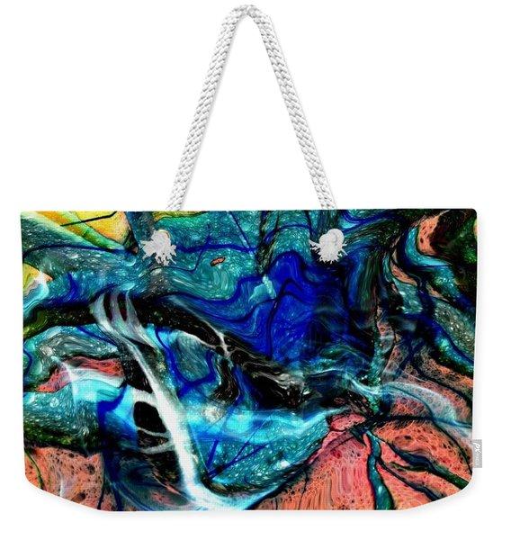 Liquidity Weekender Tote Bag