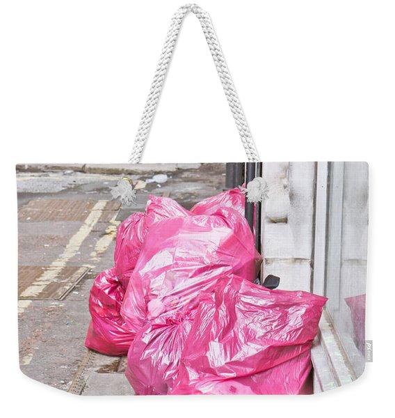 Litter Bags Weekender Tote Bag
