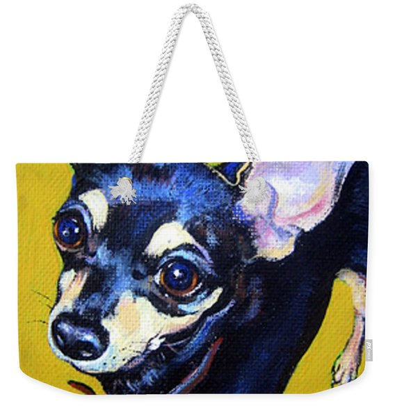 Little Bitty Chihuahua Weekender Tote Bag