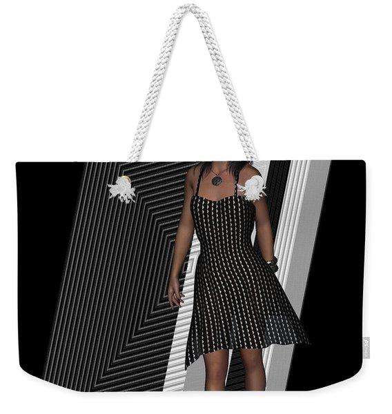 Little Black Dress Weekender Tote Bag