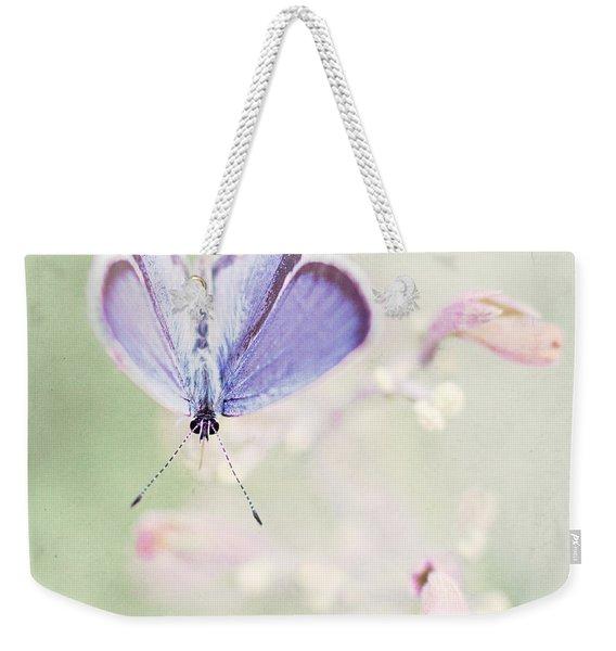 Little Blue Weekender Tote Bag