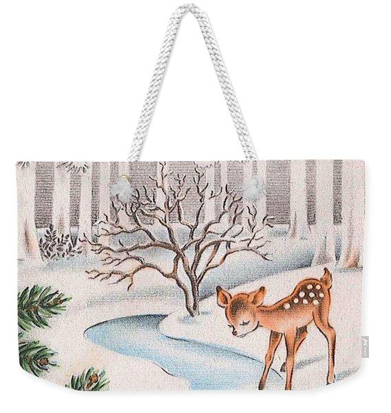 Little Deer Weekender Tote Bag