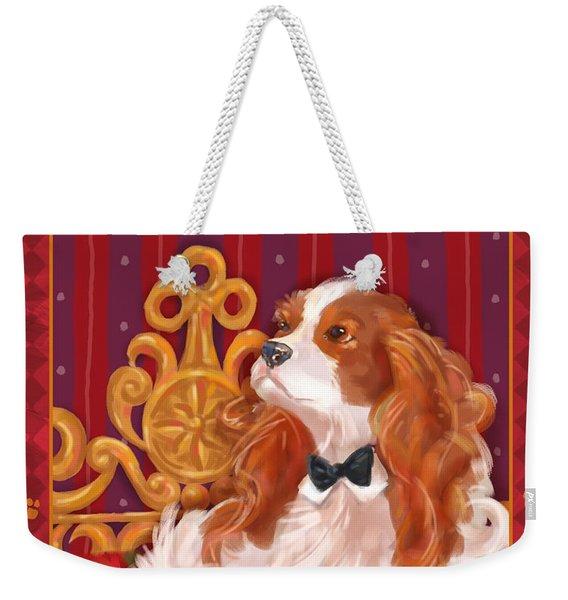 Little Dogs - Cavalier King Charles Spaniel Weekender Tote Bag