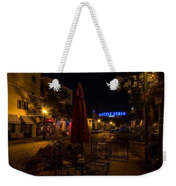 Little Italy  Weekender Tote Bag
