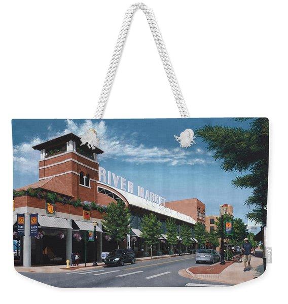 Little Rock River Market Weekender Tote Bag