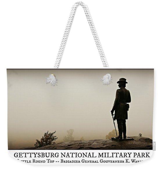Little Round Top -- Poster Weekender Tote Bag