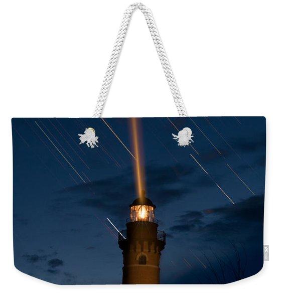 Little Sable Lighthouse Weekender Tote Bag