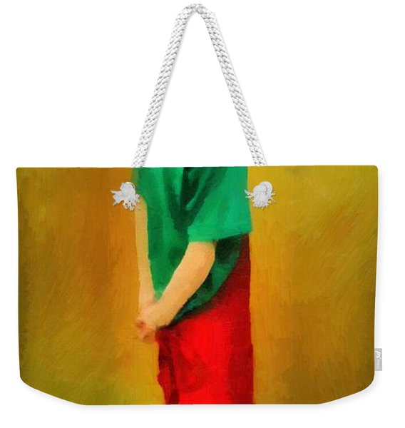 Little Shopgirl Weekender Tote Bag