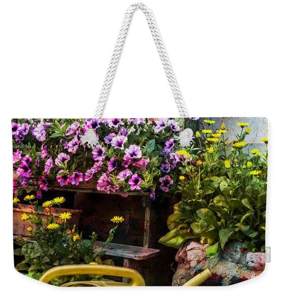 Little Swiss Garden Weekender Tote Bag