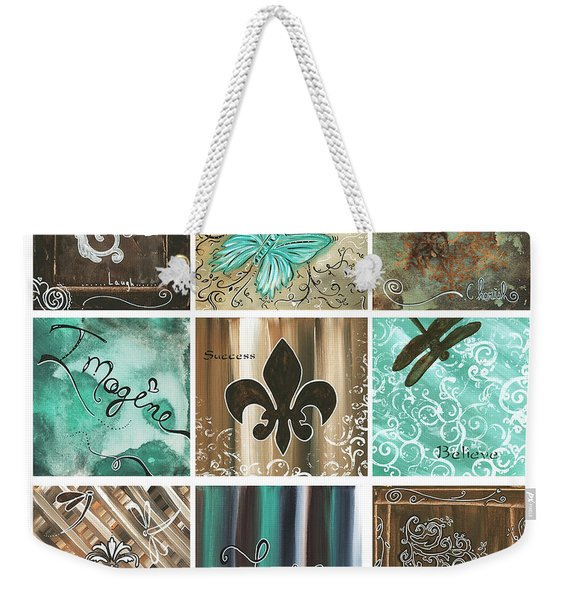 Live And Love By Madart Weekender Tote Bag