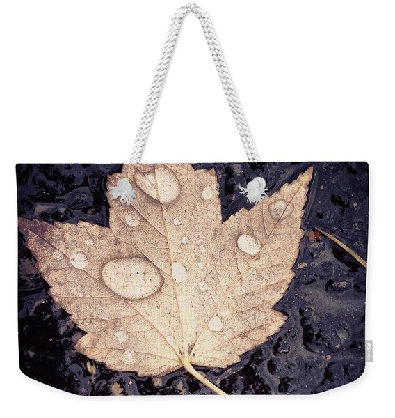 Live With Intention  Weekender Tote Bag