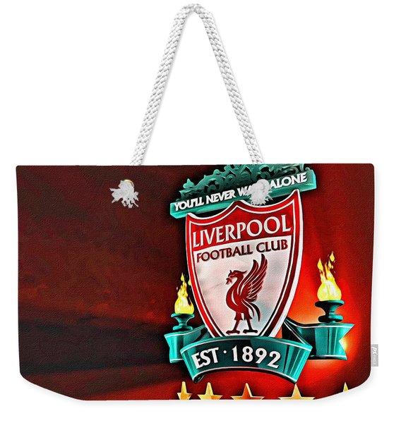 Liverpool Football Club Poster Weekender Tote Bag