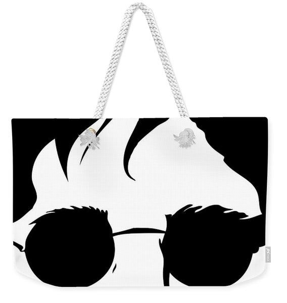 Living Lennon Weekender Tote Bag