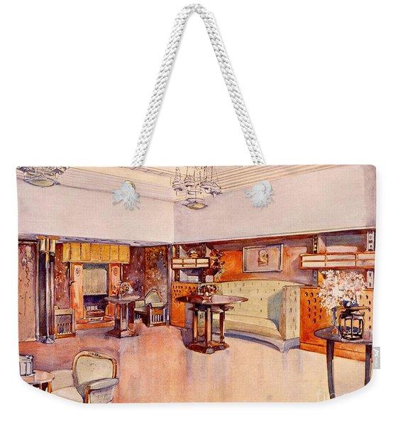 Living Room, 1905 Weekender Tote Bag