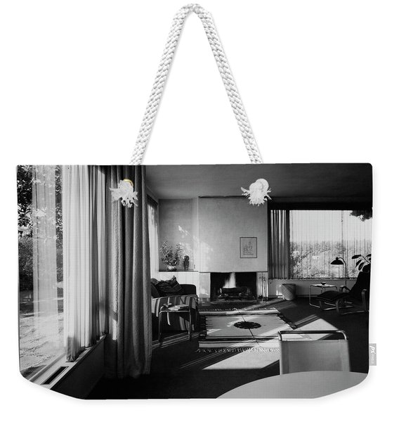 Living Room In Mr. And Mrs. Walter Gropius' House Weekender Tote Bag