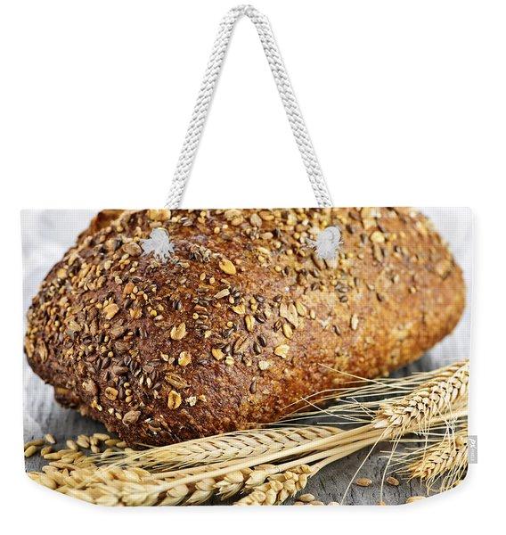 Loaf Of Multigrain Bread Weekender Tote Bag