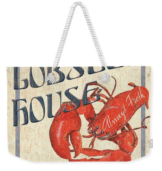 Lobster House Weekender Tote Bag