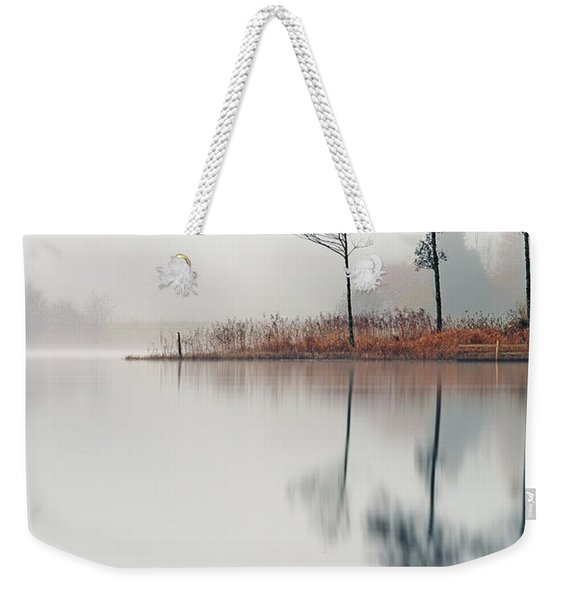 Loch Ard Reflections Weekender Tote Bag