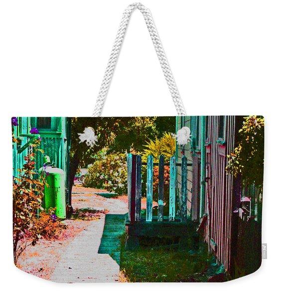 A Locke Ca Alley Way Weekender Tote Bag