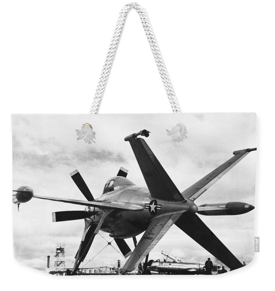 Lockheed's Vtol Aircraft Weekender Tote Bag