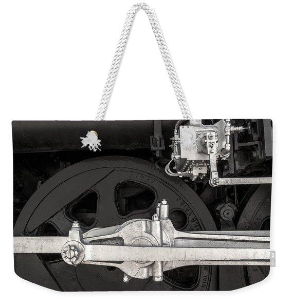 Locomotive No. 3424 Weekender Tote Bag