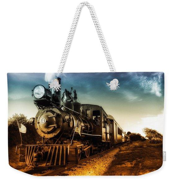 Locomotive Number 4 Weekender Tote Bag