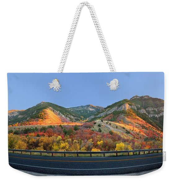 Logan Canyon Weekender Tote Bag