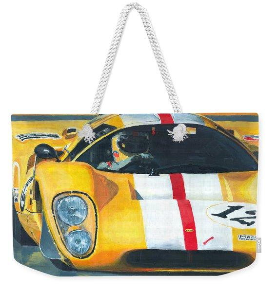 Lola T70 Mkiii/b 1969/1970 Season Cars Sebring Le Mans Weekender Tote Bag