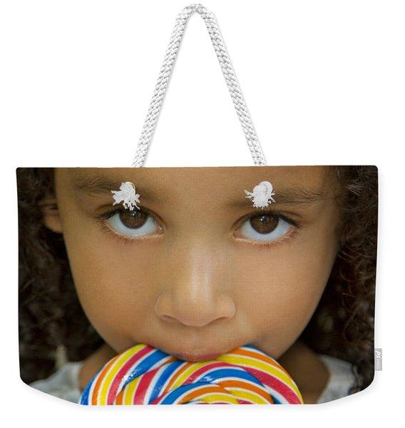 Lollipop Weekender Tote Bag
