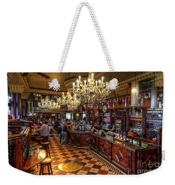 London Bridge Pub Weekender Tote Bag