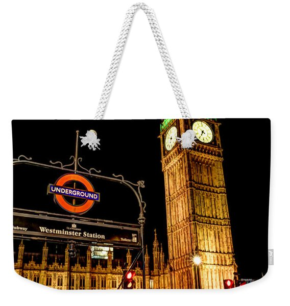 London Scene 2 Weekender Tote Bag