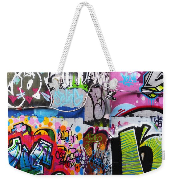 London Skate Park Abstract Weekender Tote Bag
