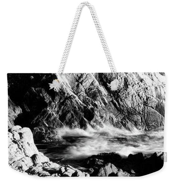 Lone Cypress On The Coast, Pebble Weekender Tote Bag