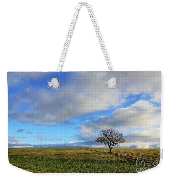 Lone Tree At Epsom Downs Uk Weekender Tote Bag