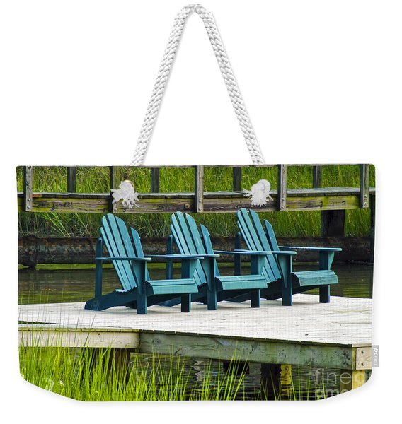 Lonely Chairs  Weekender Tote Bag