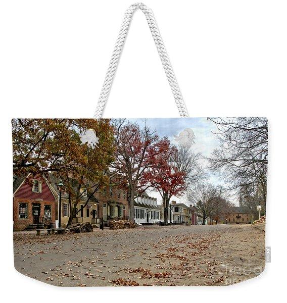 Lonely Colonial Williamsburg Weekender Tote Bag