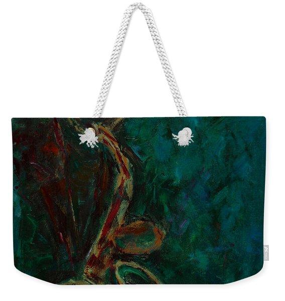 Lonely Jazz Weekender Tote Bag